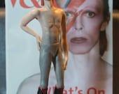 12th scale miniature doll David Bowie as Aladdin Sane by IGMA artisan