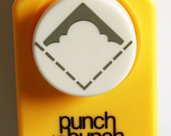 Inverted Curvy Rounded Corner Paper Punch from Punch Bunch