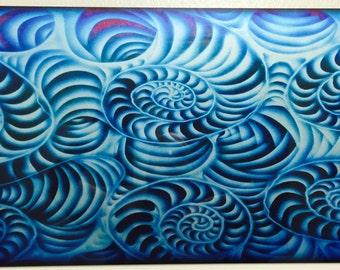 Blue Swirls 2