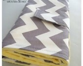 Baby Travel Change Pad...New! Longer Size!...Chevron with Minky...Many Color Choices...Shower Chic