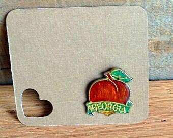 Vintage Georgia Peach Pin