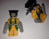 Superhero Lego Cufflinks - Wolverine