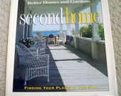 Second Home, Hard cover book by Better Homes and Gardens: Finding Your Place in the Sun