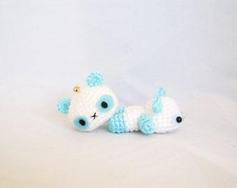 Panda Set, Panda Keychain, Amigurumi Panda, Crochet Panda