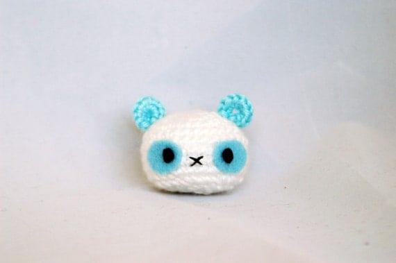 Crochet Panda, Amigurumi Panda, Crochet Panda Keychain, Amigurumi Phone Charm