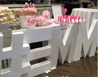 personalized table baby name styrofoam name styrofoam letters free standing letters white letter block letter decor