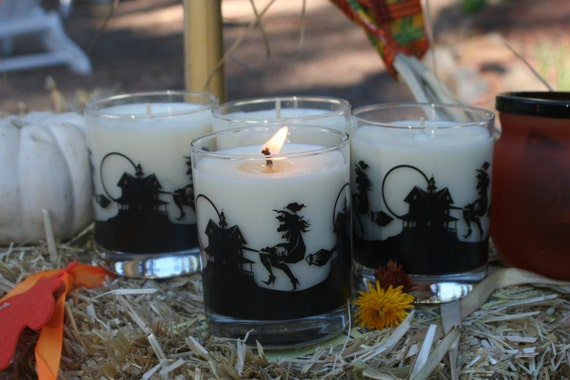 Poison Pie 8oz Soy Wax Candle in Halloween Jar