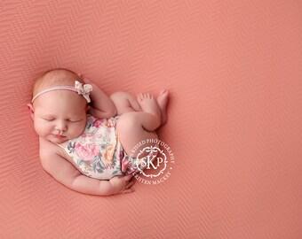 Newborn Photography Fabric Backdrop -  Thick Aaliya Knit Backdrop -  2 Yards