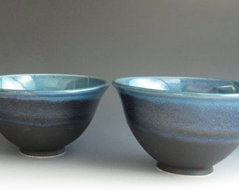 Pottery Bowl set, , Ceramic Bowls, Porcelain Bowls, Rice Bowl set, Japanese Rice Bowls, Asian Bowls, Noodle bowls, Salad Bowls