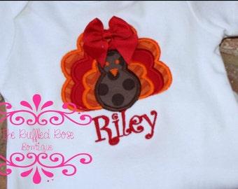Girls Turkey Shirt or bodysuit