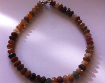 Tourmaline Faceted Necklace
