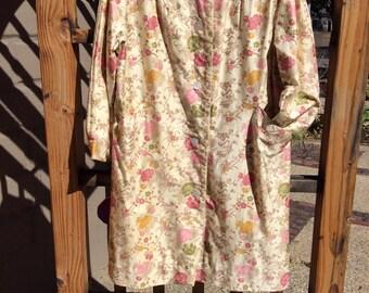 Chrysanthemum Marshall Field & Co vintage coat