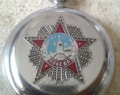 "SALE - Soviet watch ,Vintage Watch , Mens Watch ,Russian watch ,The inscription - ""The anniversary of the Second World War""  watch ""Molnija"""