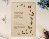 Butterfly bridal shower i...