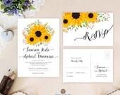 Rustic wedding invitation...