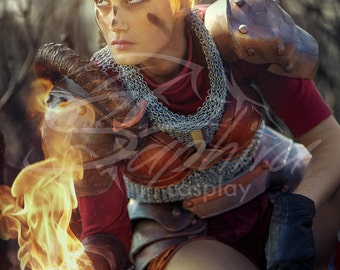 Chandra cosplay print A5( 5.8inx8.2in )