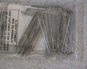 Stainless Steel 21g 48ct 1.5 inch Headpins