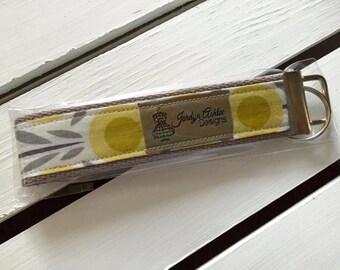Yellow Petals Key Fob