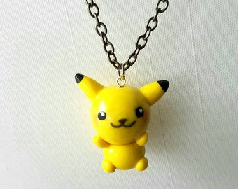 Pokemon Pikachu Inspired Necklace