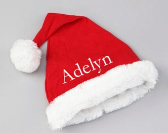 Personalized Santa Hat - Baby Santa Hat with Free Customization
