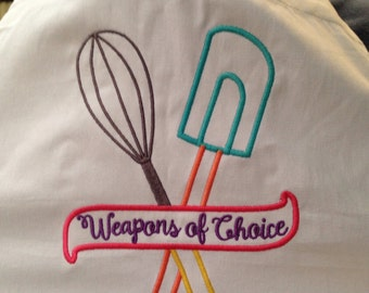 Weapons Of Choice on Apron