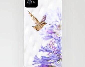 Hummingbird iPhone 6s Case - Purple iPhone 6s Plus Cover - iPhone 5s Case - Bird iPhone 5C Case - iPhone 5 Case - iPhone 4/4s Case