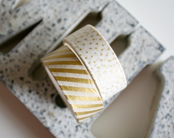 Gold Washi Tape Set of 2