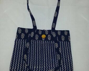 Hand Block Printed Fabric Bag MF501