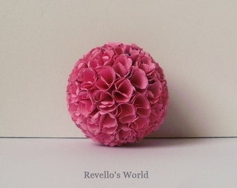 Elegant Paper Ball for Home Decor, medium, 5,5 cm