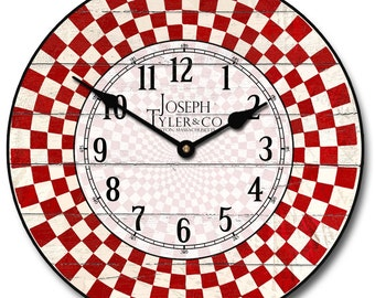 Fifties Diner Wall Clock