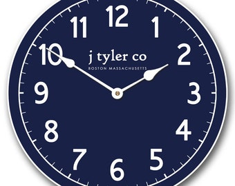 New Traditional Navy Clock