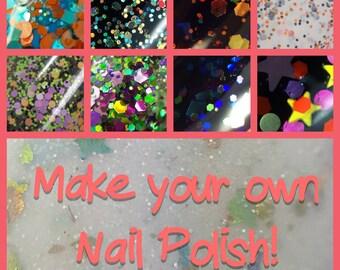Custom Nail Polish - Make your own Nail Polish!