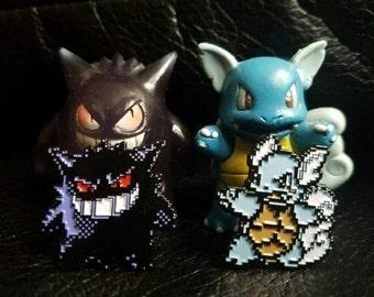 Wartortle Gengar Pokemon Team Set