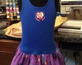 Anna Elsa play dress/ ready to ship