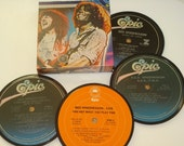 REO SPEEDWAGON Coasters vinyl record coaster set
