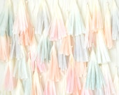 Watercolor Dip Dye Tassel Backdrop - One Stylish Party