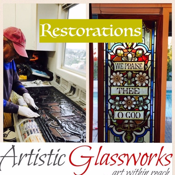 Stained Glass Restorations