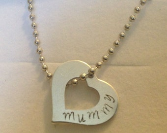 mummy necklace in gift box