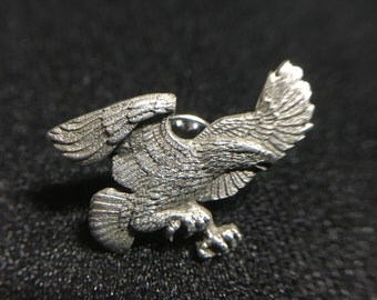 "1990s ""Eagle"" Siskiyou Pewter Pin (Made in USA)"