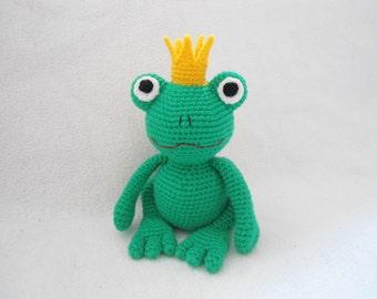 prince frog crochet pattern