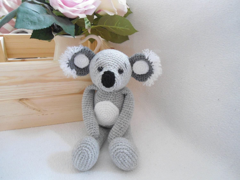 Crochet Pattern Koala Bear : Baby Koala bear crochet pattern