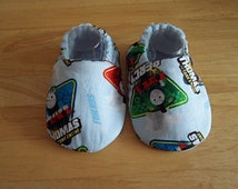Baby Shoes, Thomas The Tank, Fabric Shoes,Various Sizes