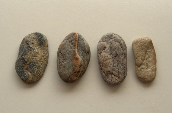 4 large flat beach stoneswrapped jewelrybeach stonescraft for Flat stones for crafts