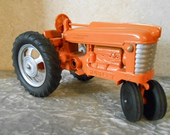 1950's Large Hubley Metal Tractor