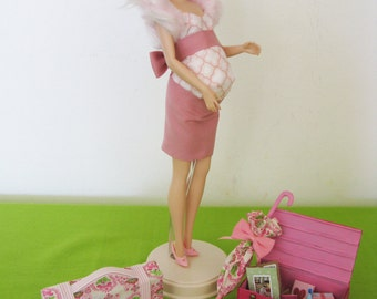 Pack and Go Mommy OOAK Silkstone Barbie Doll
