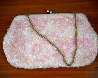 Sequined Vintage Clutch