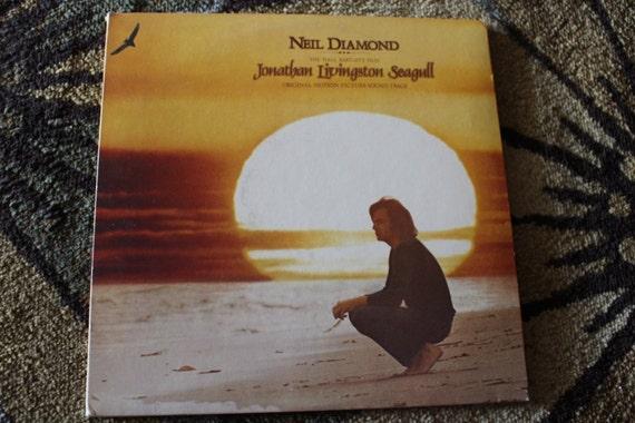David Jones Personal Collection Record Album - Neil Diamond - Jonathan Livingston Seagull