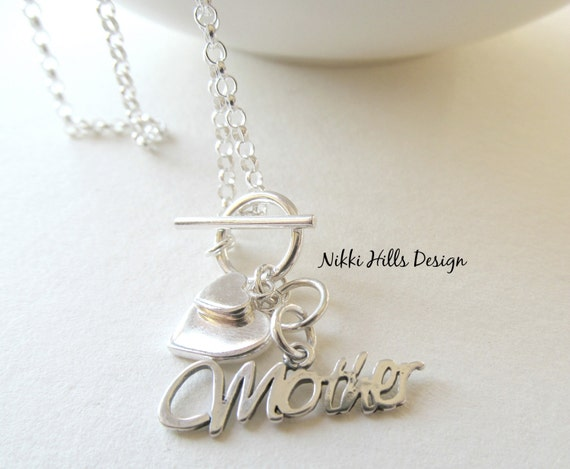 Mother Of The Groom Gift: Mother Of The Bride Groom Gift Necklace By NikkiHillsDesign