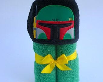 Boba Fett Hooded Towel- Star Wars