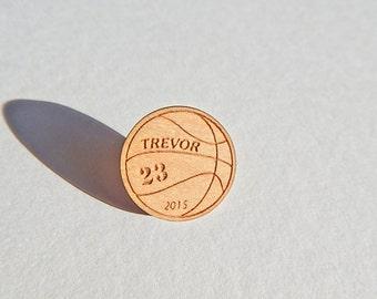 Custom Basketball Pin